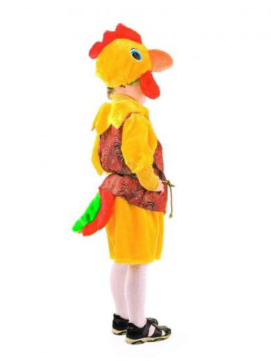 Карнавальный костюм Петушок жёлтый Купить детский